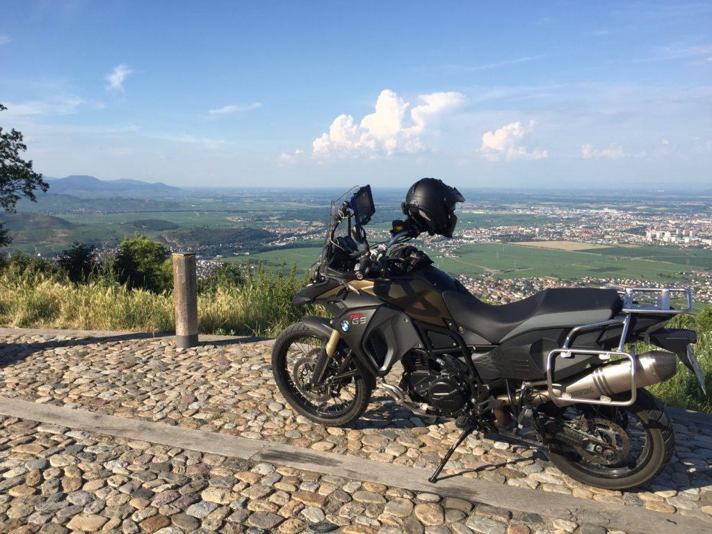 Vogesenblick ins Rheintal