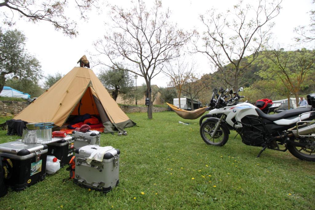 Tipi Camping Popoleda in Katalonien
