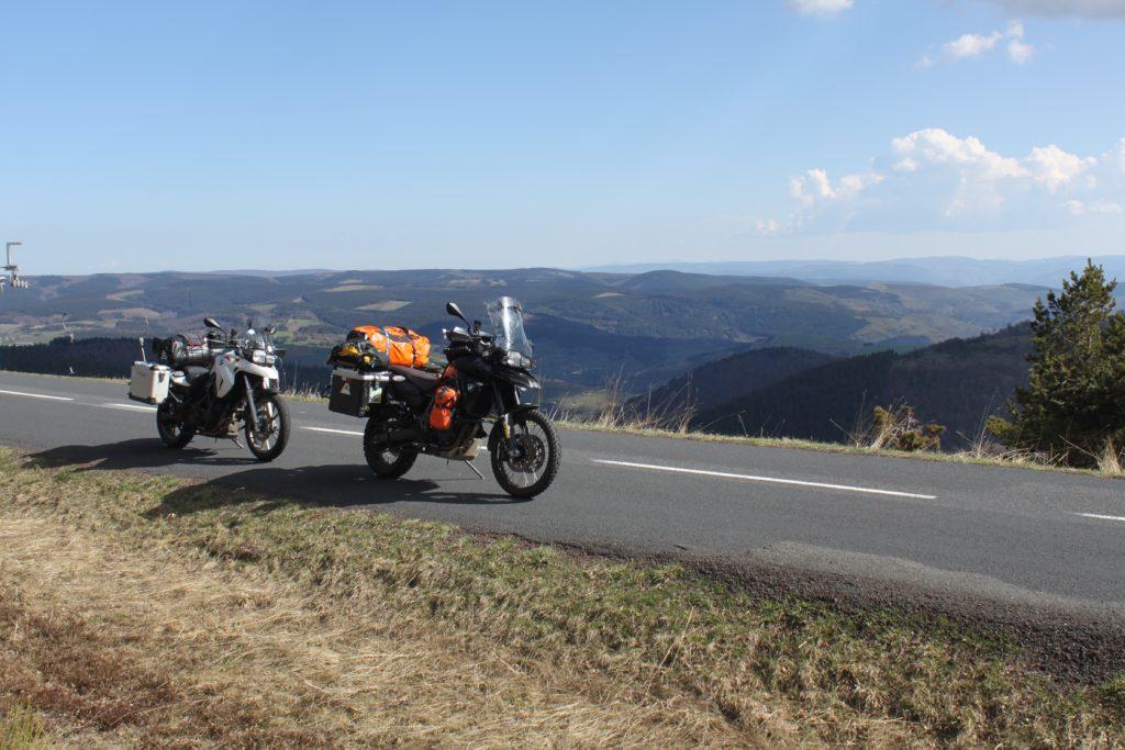 Frankreich Motorradtour