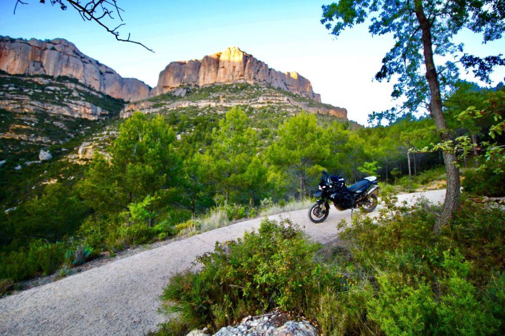 Motorradreise Spanien - Wilde Berge in Katalonien