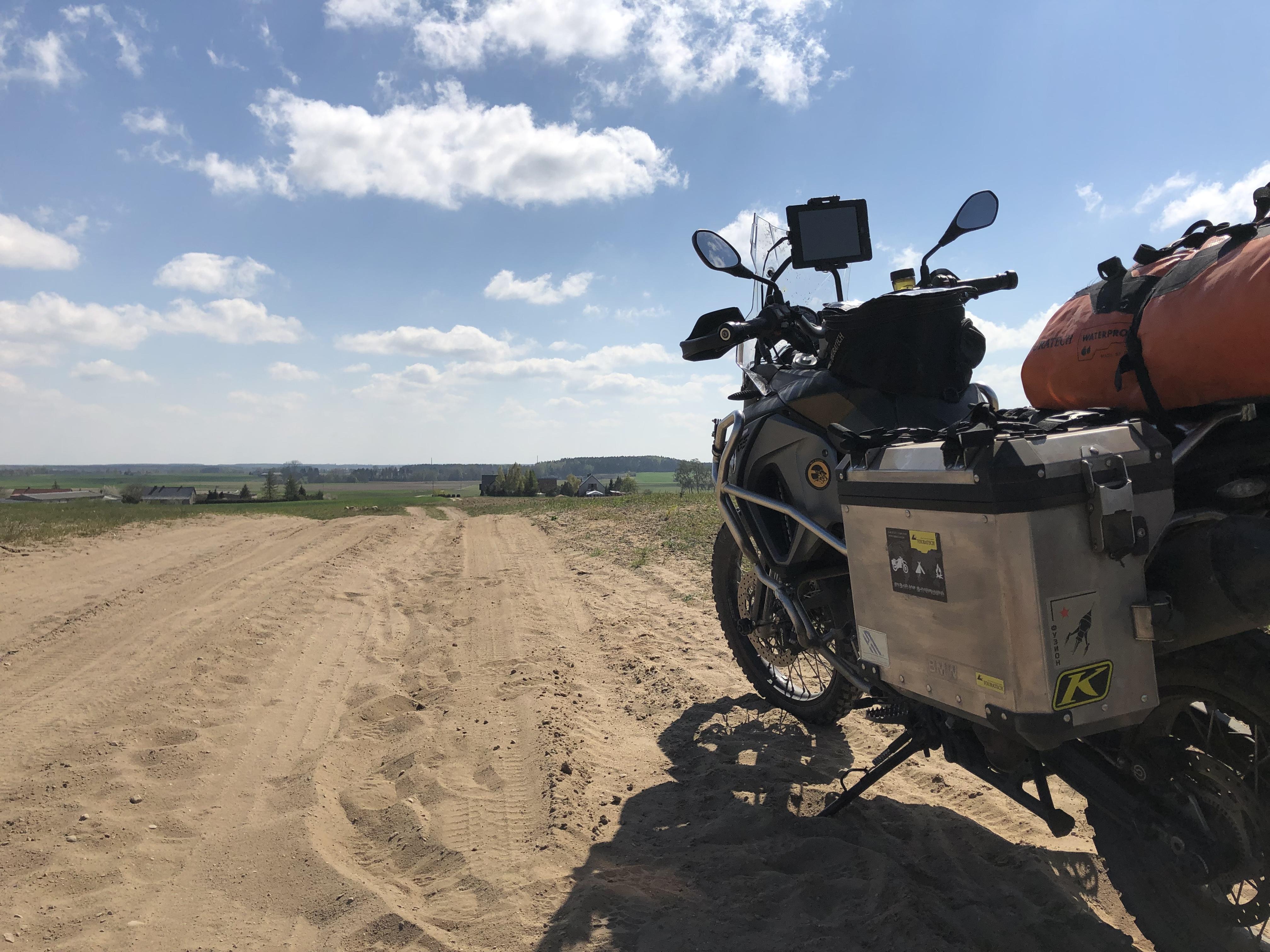 Feldwege in Polen TET Polen maklifearide
