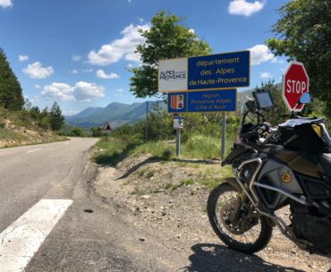 TET Trans Euro Trail Frankreich