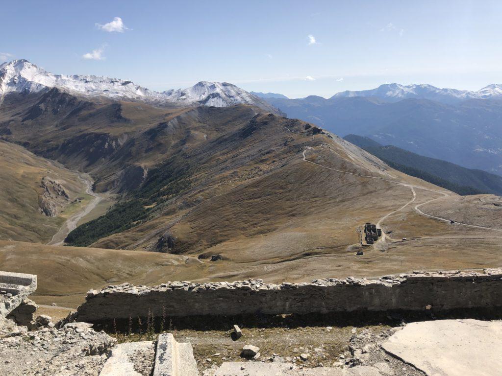 Bunkeranlage auf dem Monte Jafferau