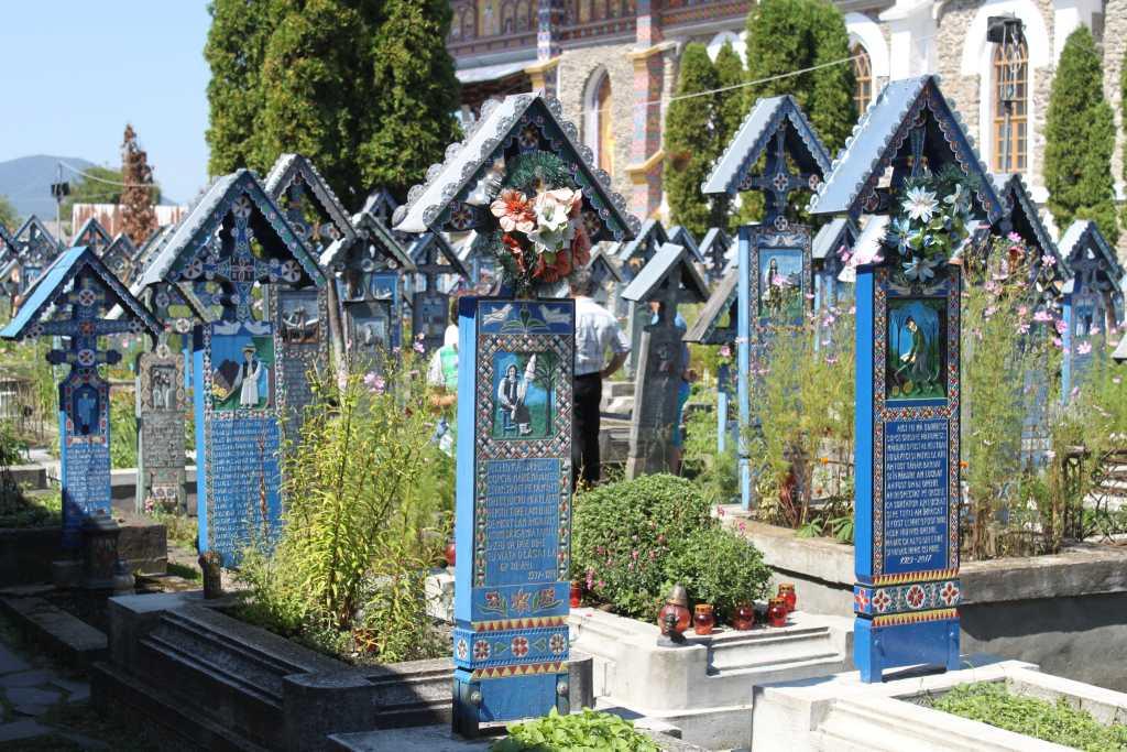 Rumänien - Fröhlicher Friedhof