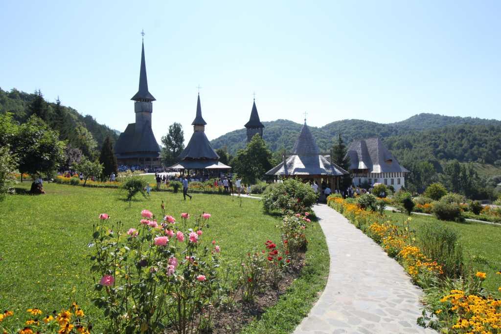 Rumänien - Klosteranlage Bârsana