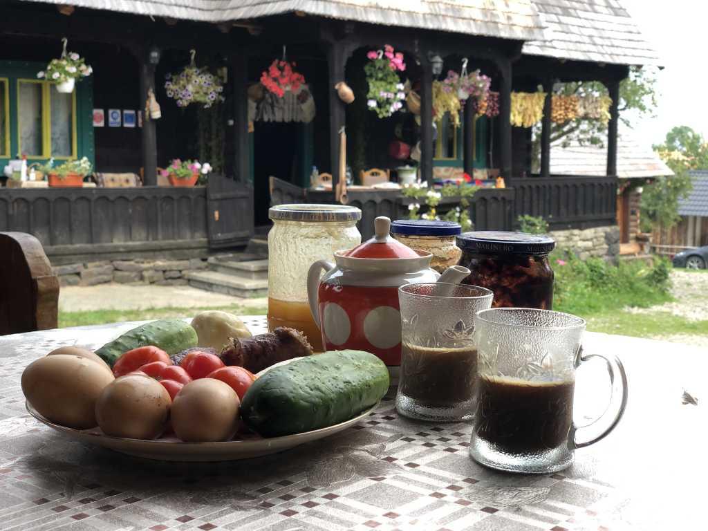 Rumänien - Frühstück